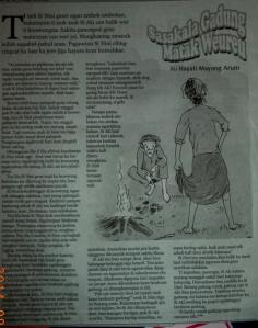 Dongéng jeung Ilustrasi di H.U Kabar Priangan